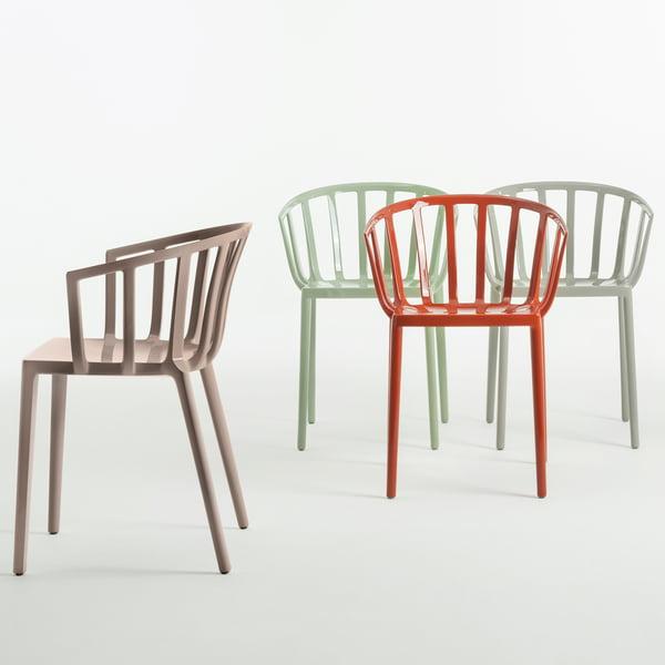Der Kartell - Venice Stuhl in verschiedenen Farben