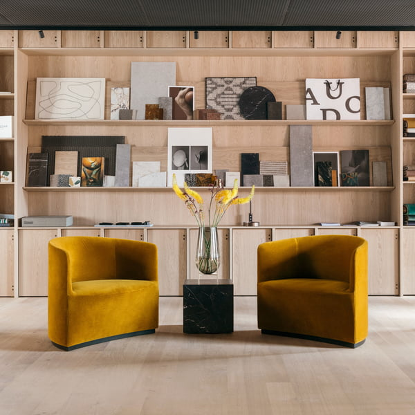 Menu - Tearoom Club Chair, gelb